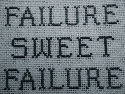 Failure Sweet Failure