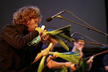 The Vegetable Orchestra, photograph by Heidrun Henke