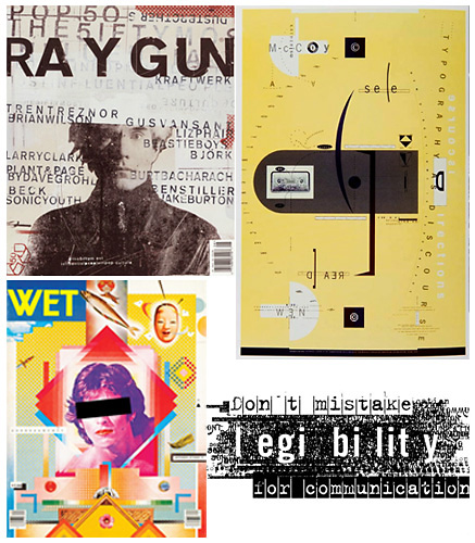 Examples of Postmodernism in Graphic Design