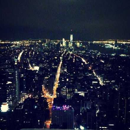 View from the 102nd floor of the Empire State Building