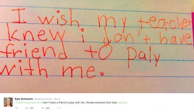 { #IWishMyTeacherKnew } Empathy In Action In the Classroom ...* | rethinked.org