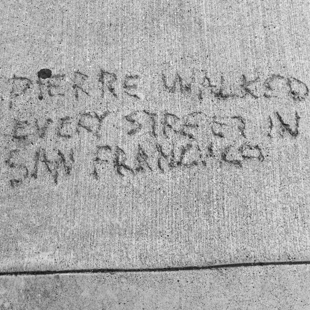 A Poem Lost & Found in San Francisco ...* | rethinked.org - Photograph: Elsa Fridman Randolph