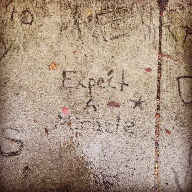 A Poem Lost & Found in San Francisco ...* | rethinked.org - Photograph: Elsa Fridman Randolph